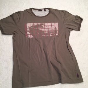 TED BAKER GRAPHIC T-SHIRT